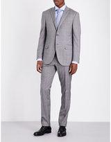 Corneliani Checked Regular-fit Wool Suit