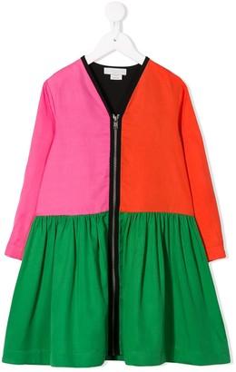 Stella Mccartney Kids Colour Block Dress