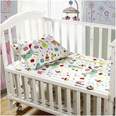 Mellanni Toddler Sheet Set Animal-Print - 4 Piece - Fits Baby Crib Too - Super Soft HIGHEST QUALITY Kids Bedding (4 Piece Toddler Set, Animal Print)