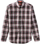 Joe Fresh Men's Plaid Button Down Shirt, Navy (Size M)