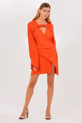 Finders Keepers LYDIA MINI DRESS Morange