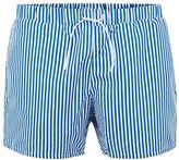 Topman Blue Stripe Swim Shorts