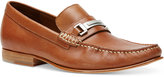 Calvin Klein Men's Bruce Washed Leather Loafers