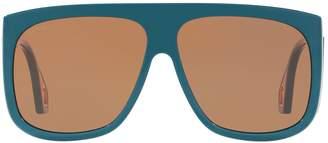 Gucci Rectangle Square Sunglasses