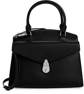 Calvin Klein Lock Zip-Top Satchel