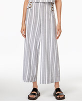 MinkPink Deckside Striped Wide-Leg Pants