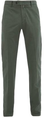 J.w.brine J.w. Brine - James Cotton-gabardine Chino Trousers - Green