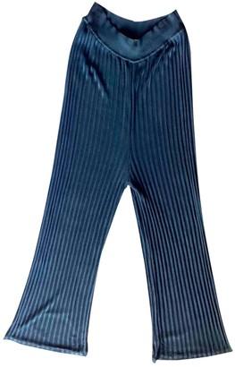 Sonia Rykiel Black Viscose Trousers