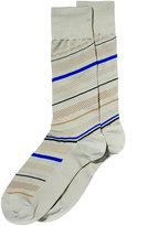 Perry Ellis Men's Striped Dress Socks