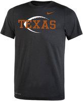 Nike Texas Longhorns Legend Icon Football T-Shirt, Big Boys (8-20)