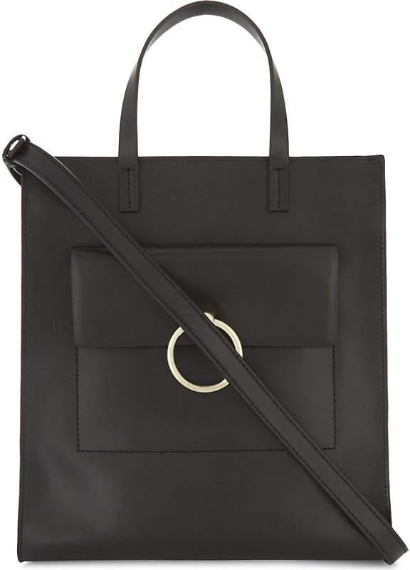 Claudie Pierlot Anouck leather tote bag