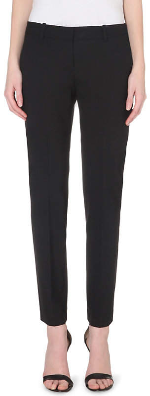 Theory Testra tapered wool-blend trousers