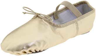Dance Class Women's B902 Full Sole Metallic Ballet Slipper