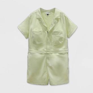 Universal Thread Women's Plus Size Short Sleeve Boilersuit - Universal ThreadTM