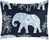 Jane Wilner Designs King Ellie Elephant-Print Sham