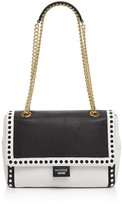 Moschino Laser-Cut Shoulder Bag