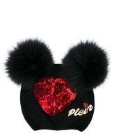 Philipp Plein embellished beanie - kids - Virgin Wool - One Size