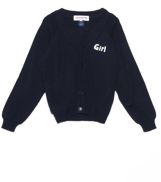 COMME DES GARÇONS GIRL Motif Button-Up Cardigan