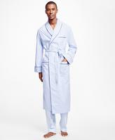 Brooks Brothers Framed Gingham Robe