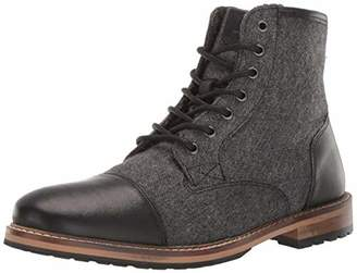 Crevo Men's Demarcon-Leather & Wool Fashion Boot