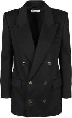 Saint Laurent Long Jacket Double