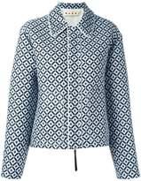 Marni Tracery print jacket