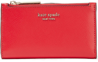 Kate Spade Spencer Small Textured-leather Wallet
