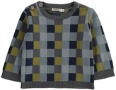 Imps & Elfs Checked Patchwork Pullover
