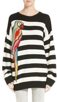 Marc Jacobs Women's Parrot Jacquard Sweater
