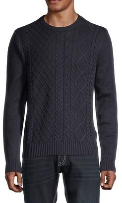 Ben Sherman Fisherman Wool-Blend Sweater
