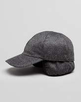 Bloomingdale's The Men's Store at Cashmere Earflap Baseball Cap