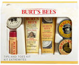 Burt's Bees Tips and Toes Kit by 6pieces Set)