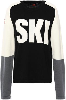 Perfect Moment Ski Color-block Intarsia Merino Wool Sweater