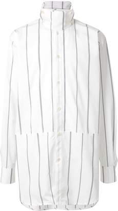 Jil Sander boxy extended shirt