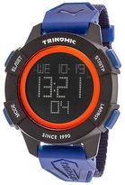 Puma PU911271002 Men's Trinomic Digital Blue Nylon Black Dial