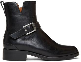 Rag & Bone Black Abel Moto Boots