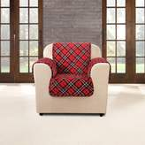 Sure Fit Flair Tartan Plaid Chair Slipcover