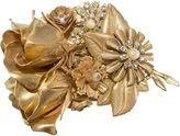 One Kings Lane Vintage Hagler Floral Spray Brooch w/ Roses