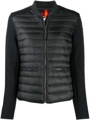 Parajumpers Quilted Panel Bomber Jacket
