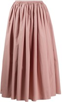 Marni flared midi skirt