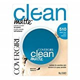 Cover Girl Clean Matte Pressed Powder Classic Ivory Warm 510 , .35 oz