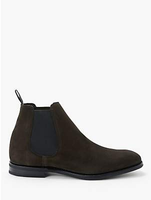 Church's Prenton Suede Chelsea Boots, Ebony