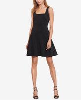 Lauren Ralph Lauren Fit & Flare Cutout Dress