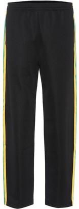 Acne Studios Face cotton-blend trousers