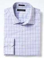 Banana Republic Grant-Fit Supima® Cotton Grid Shirt