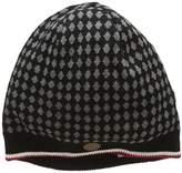 Merc of London Men's Bonnet Tricot à Losanges Knepp Sunhat