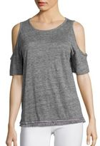 Derek Lam 10 Crosby Cold Shoulder Tee