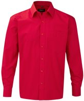 Russell Athletic Russell Mens Long Sleeve Pure Cotton Work Shirt (3XL)