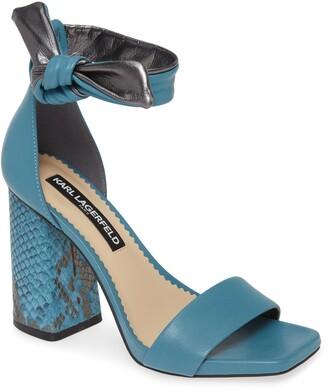 Karl Lagerfeld Paris Mabli Ankle Strap Sandal