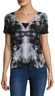 Tart Cut-Out Silk Top